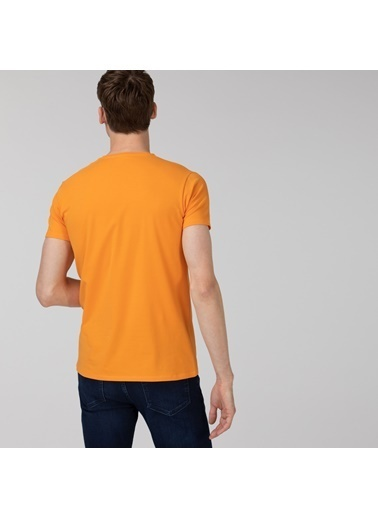 Lacoste Erkek Slim Fit Tişört TH0999.DRA Oranj
